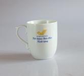 Cốc sứ, gốm sứ mỹ nghệ Bát Tràng in logo quà tặng