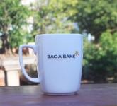 Cốc sứ quà tặng in logo Ngân hàng Bắc Á Bank