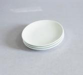 Đĩa sứ trắng 1 lá phi 16cm