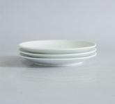 Đĩa sứ trắng 1 lá phi 18cm