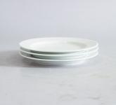Đĩa sứ trắng 2 lá phi 22cm