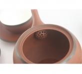 Bộ ấm trà có lưới lọc sứ gốm sứ Hải Long