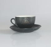 Tách cafe cappuccino kiểu Ý chuẩn pha máy cafe Gốm sứ Hải Long