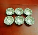 Bát ăn chè men xanh đồng vẽ bèo gốm Hải Long Bát Tràng