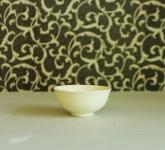 Bộ bát đĩa gia vị men kem mát gốm Hải Long Bát Tràng