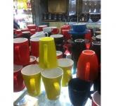 Cốc sứ men màu các loại gốm sứ Bát Tràng Hải Long
