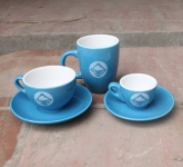 Cốc tách cafe gốm sứ Bát Tràng tại cloudy coffe