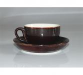 Bộ cốc chén cafe cappuccino gốm sứ Bát Tràng hiện đại tuyệt đẹp