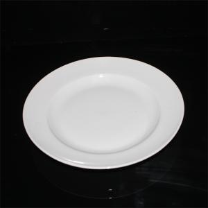 Đĩa sứ trắng sâu lòng số 1 Gốm sứ Hải Long Bát Tràng